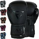 EMRAH Geladen V-2 Boxhandschuhe Muay Thai Training Maya Hide Leder Sparring Boxsack Handschuhe...