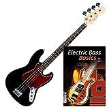 Rocktile Pro JB-30BK 70´s Deluxe E-Bass SET + Noten + CD