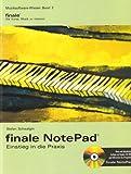 finale NotePad - Einstieg in die Praxis
