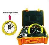 mabelstar Unterwasser Inspektionskamera HD Sicherheit Kamera System mit 20m Zugstange Kabel...