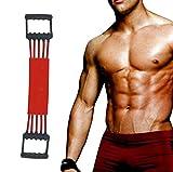 Verstellbarer Chest Expander -Brust Expander - Trainingsgerät für Muskeln - 5 Strings mit...