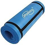 Physionics Fitnessmatte Bodenmatte geeignet als Yogamatte, für Pilates umv. in 2 verschiedenen...
