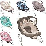 Babywippe / Babywiege / Babyschaukel (Inklusive Spielbogen mit 3 Figuren) + Vibrationsfunktion &...