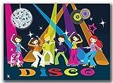 Einladungskarten Kindergeburtstag Disco Tanzen Party Spaß Jungen Mädchen - 8 Stück Jungs Girls Karaoke Einladung Geburtstagseinladung