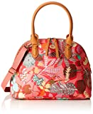 Oilily Damen Boston Bag Henkeltasche, Pink (Pink Flamingo), 16 x 27 x 36 cm