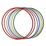 Hoopomania Hula Hoop Rohling, HDPE-20mm, WEISS (milchig), Durchmesser 90cm