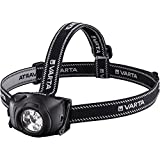 Varta 5 x 5 mm LED Indestructible Head Light H10 (inkl. 3x High Energy AAA Batterien Taschenlampe...