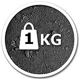 @tec Premium Pigmentpulver, Eisenoxid, Oxidfarbe - 1kg Farbpigmente/Trockenfarbe für Beton + Wand -...