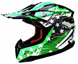 Motocross Helm Kinder Motorradhelm Downhill - Yema YM-211 Fullface Cross DH Enduro Quad Mountainbike...