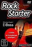 Das Rockstarter Vol. 1-3 Komplettset - E-Bass: 3 DVDs! Bassschule. Unterricht für Anfänger....