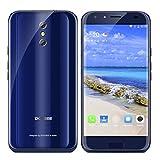 Doogee BL5000 4G Smartphone MTK6750T Android 7.0 4GB + 64GB mit 5.5 Zoll 1920x1080 FHD Display 5050mAh OTG Doppelte hintere Kamera + vodere Kamera Fingerabdruck LTE Cat-6 (Blau)
