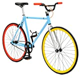 Critical Cycles Classic Fixed-Gear Single-Speed Urban Road Bike with BMX Bars, 1225