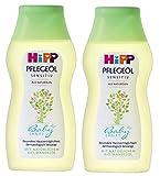 Hipp Babysanft Pflege-Öl, 2er Pack (2 x 200 ml)