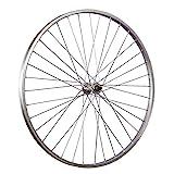 TAYLOR WHEELS 28 Zoll Fahrrad Vorderrad Büchel Aluminiumfelge Vollachse silber
