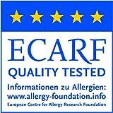 TAURO 24536 Matratzen-Bezug gegen Milben | Anti-Allergie Matratzenschoner | Bettbezug bei...