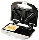 Evertoast Sandwichtoaster / Sandwichmaker mit Antihaftbeschichtung, Toaster mit 800 W Leistung,...