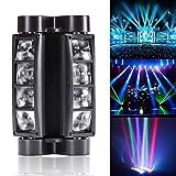U`King Spider Moving Head Licht DMX512 lichttechnik mit 8x3W RGBW 4 Farbe LED Lampe für DJ Disco...