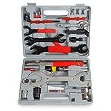 TecTake 44tlg. Fahrrad Werkzeug Tool Set im Werkzeugkoffer