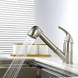 Homelody küchenarmatur mit ausziehbarem brause Wasserhahn Küche Armatur Spültischarmatur...