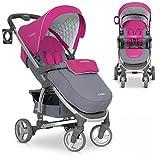 Buggy VIRAGE Alu Sport Kinderwagen für Baby ab 1. Monat - Zusammenklappbar und mit Liegefunktion - Latte beige
