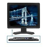 TPEKKA 15' Zoll HDMI/BNC/AV/VGA Eingang TFT LCD Sicherheits Monitor 4:3/ 16:9 TV PC CCTV Bildschirm