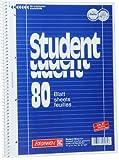 10 Brunnen Collegeblöcke Student A4 Lineatur 27, 80 Blatt (1, Lin. 27 (liniert))