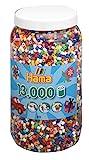 Hama 211-00 - Bügelperlen Dose mit circa 13.000 Perlen, 10 Farben gemischt