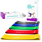 Trainingsbänder Fitnessbändern - Resistance Bands Gymnastikband Fitnessband Übungsband Set (5) -...