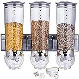 Müslispender / Cornflakes Spender / Cerealienspender für die Küche und Büro doppelt & dreifach...