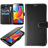 Samsung Galaxy S5 Hülle, Profer [Premium Leder Serie] Schutzhülle PU Leder Flip Tasche Case mit...