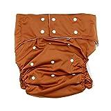 lukloy Herren Erwachsene Stoffwindeln für Inkontinenz Pflege schützende Unterwäsche–Dual-Öffnung Tasche waschbar wiederverwendbar verstellbar leakfree