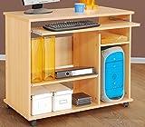 PC-Tisch Buche dekor - Computertisch - Schreibtisch Buche - (1373)