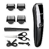 BROADCARE Herren Haarschneider Set Elektrischer Haarschneidemaschine Profi- Bartschneider Haarscherer Haartrimmer Hair Clipper für Baby Kinder Erwachsenen USB Aufladen(kein Ladegerät)