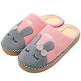 Hausschuhe, Baumwolle Pantoffeln, Nette Karikatur Rabbit Hausschuhe/Slippers, CIDBEST® Winter...