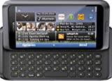 Nokia E7-00 Smartphone (10.2cm (4 Zoll) Clear-Black AMOLED Touchscreen, QWERTZ-Tastatur, 8 MP...