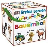 Erstes Lernen Stapelwürfel. Bauernhof: 10 stabile Karton-Würfel mit tollen Fotos zum Spielen,...