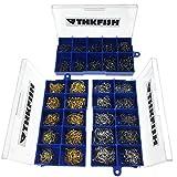 1500x Schwarz-Silber-Bronze #3~12 Angelhaken Angelhaken Box Set Kamm