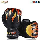 Luniquz Kinder Boxhandschuhe mit Klettschluss Klein Box-Handschuhe für Kinder von 3 - 10 Jahre...