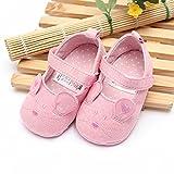 Bluelover Mädchen Baby Kleinkind Süße Maus Weiche Sohle Babybett Schuhe Mary Janes Rutschfeste Schuhe - Rosa 11