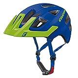 Cratoni Maxster Pro Helmet Kids blue-lime matt Kopfumfang S/M | 51-56cm 2017 mountainbike helm...