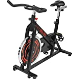 GORILLA SPORTS Indoor Cycling Bike mit 13 kg Schwungrad – Profi-Heimtrainer Fahrrad für Zuhause...