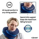 BCOZZY Kinnunterstützendes Nackenkissen– Unterstützt den Kopf, Nacken und das Kinn in maximalem...