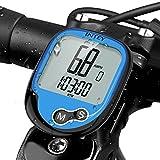 INTEY Fahrradcomputer Kabellos, Wasserdicht Drahtloser 12 Modi Fahrradtacho mit...