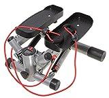 SportPlus Side Stepper mit Zugbändern • Nutzergewicht bis 100kg • Stepper für zuhause •...