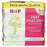 Hipp Babysanft Feuchttücher zart pflegend, 4x56 Tücher