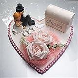 Der-kleine-Dekoladen Geldgeschenk zur Hochzeit rosa Geld verschenken Geldtablett Hochzeitsgeschenk