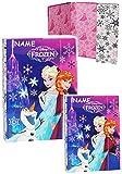 2 tlg. Set: Heftordner / Ordner - ' Disney die Eiskönigin / Frozen ' - A4 + A5 - incl. Namen - für...