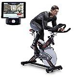 Sportstech Profi Indoor Cycle SX400 mit Smartphone App Steuerung + Google Street View, 22KG...