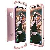 Samsung Galaxy S9 Hülle, CE-Link Hardcase 3 in 1 Handyhülle Ultra Dünn Hartschale 360 Grad Full...