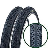 Paar Fincci Slick MTB Mountainbike Cityräder Rennräder 2 x Fahrrad Reifen 26 x 1.95 Zoll 54-559